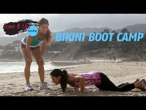 Bikini Boot Camp | Tone It Up Girls - workout video  http://www.livestrong.com/original-videos/mW7KR8ut8c8-tone-it-up-workouts-bikini-boot-camp/