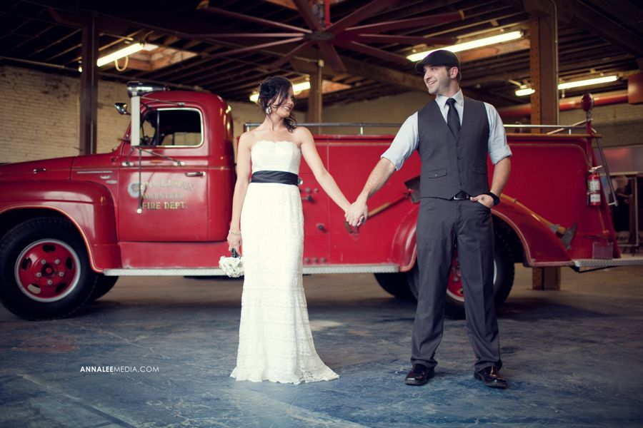 Anna lee media oklahoma wedding photographer red fire truck anna lee media oklahoma wedding photographer red fire truck wedding prop industrial wedding junglespirit Choice Image