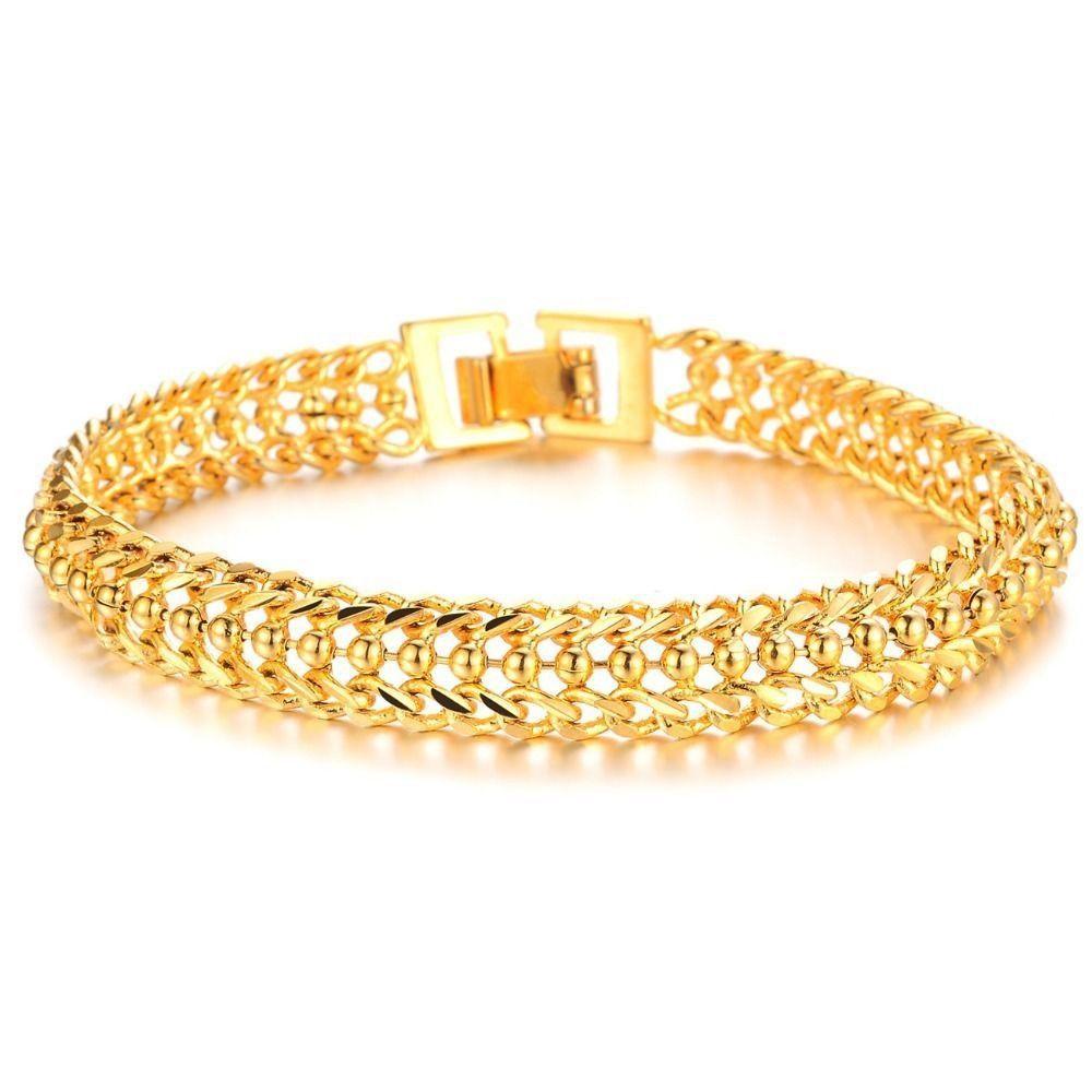 New k gold bracelet for women free shipping jewelry