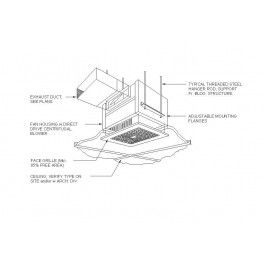 Ceiling Exhaust Fan Dwg