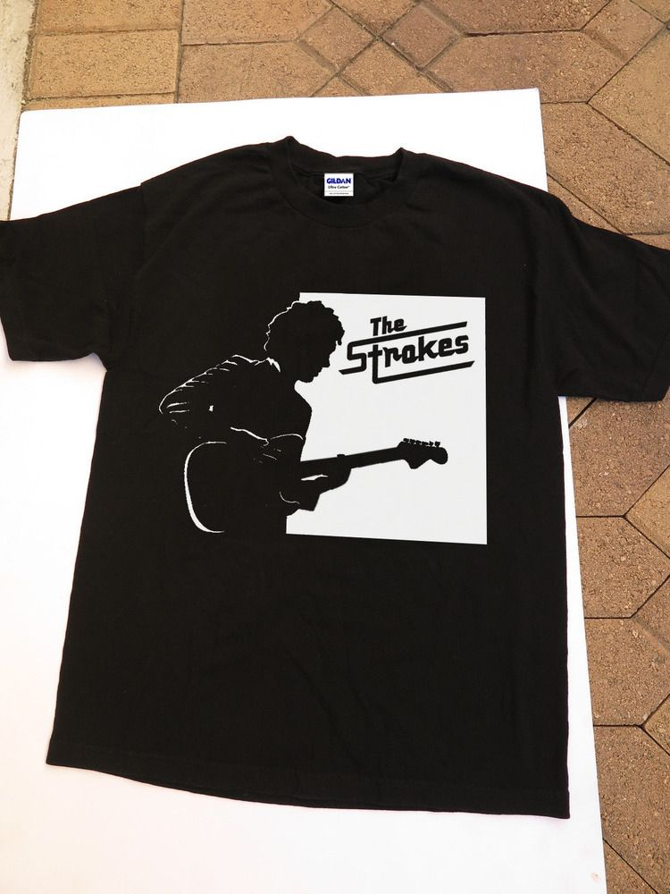 4c1d37ccda4a8c New GILDAN Vintage T-shirt The Strokes Rock Band Size S - 2XL  fashion   clothing  shoes  accessories  mensclothing  shirts (ebay link)