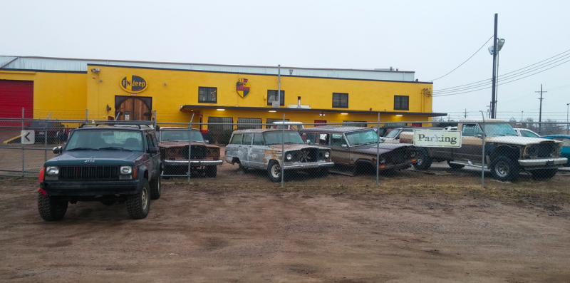 This Amazing Indoor Jeep Junkyard Is My Heaven On Earth Jeep