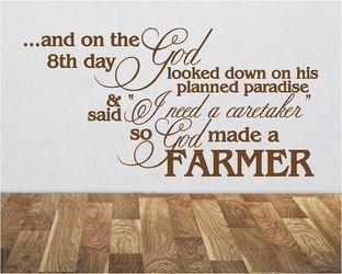 Farm Style Decal Farmhouse Decal Farm Decal Farm Sign Decal Rustic Decal Farm House Decal Country Farm Charm Decal Farm Chic Decal