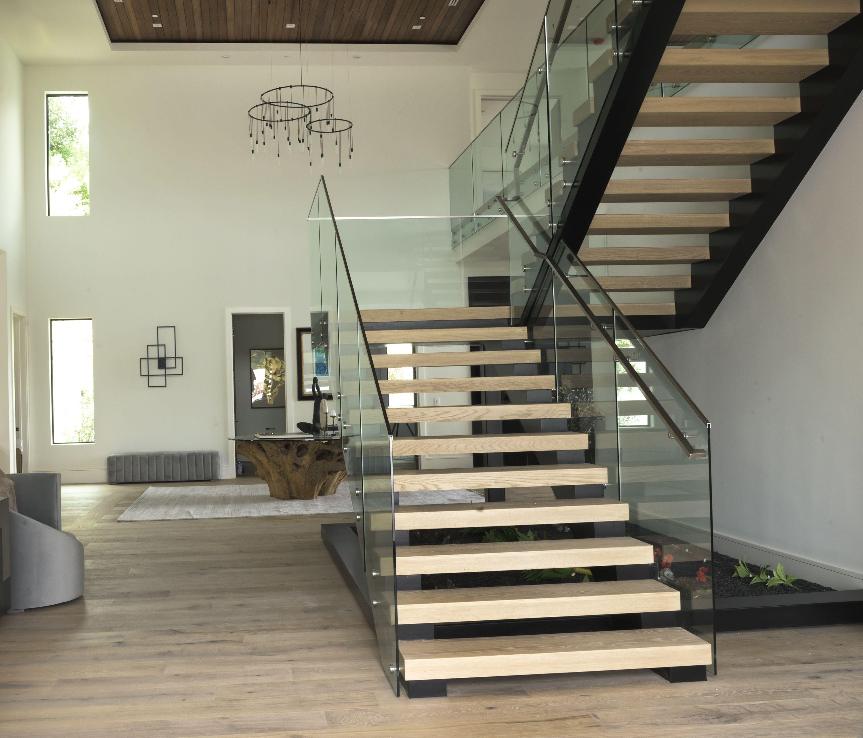 Best American White Oak Custom Milled Steps For A Floating 400 x 300