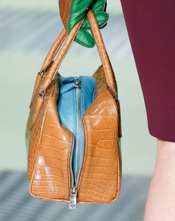 Handbag bicolor Prada