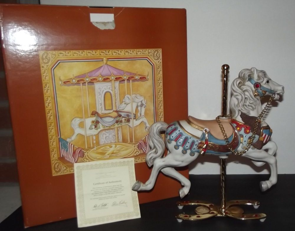The American Carousel by Tobin Fraley Fifth Edition 270/2500 with COA and Box