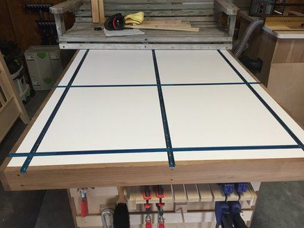 Assembly Table With T Track Top Projects To Try In 2019