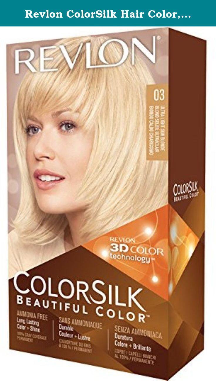 Colorsilk beautiful color 55 light reddish brown by revlon hair color - Hair Coloring Revlon Colorsilk