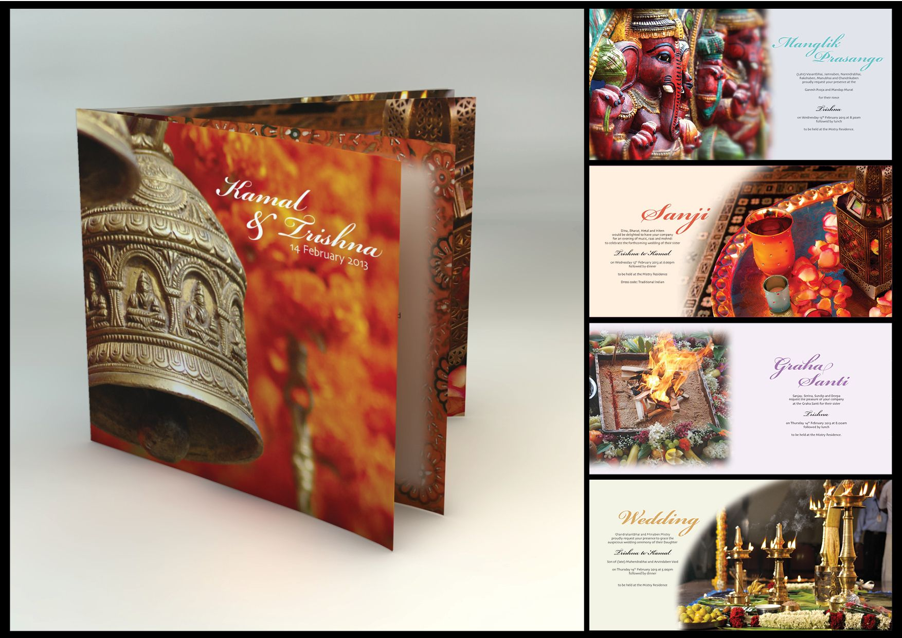 indian wedding hindu invitations%0A Wedding invitation for a Hindu wedding ceremony taking place in India   by  Doves  u