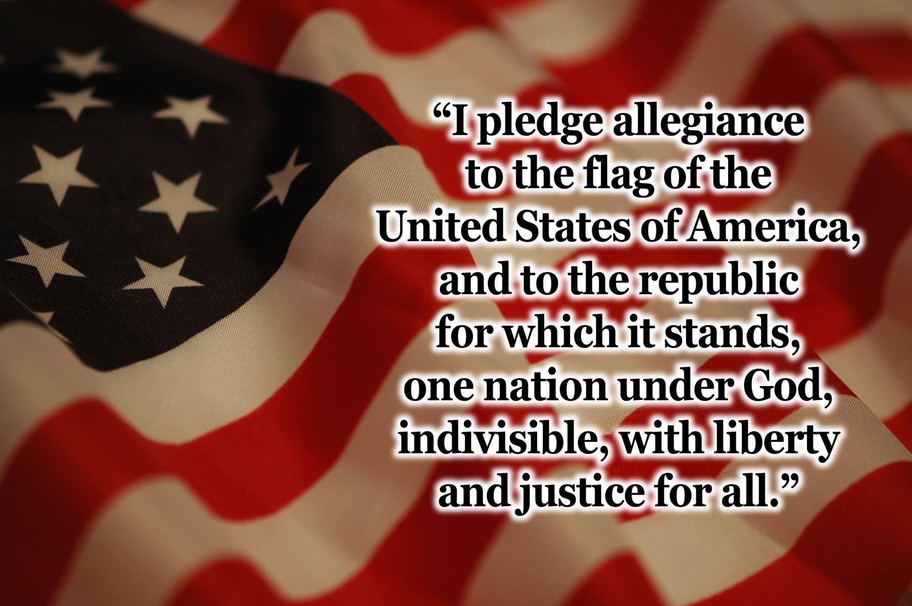 I pledge allegiance to the flag👉🇺🇸.......... Pledge of