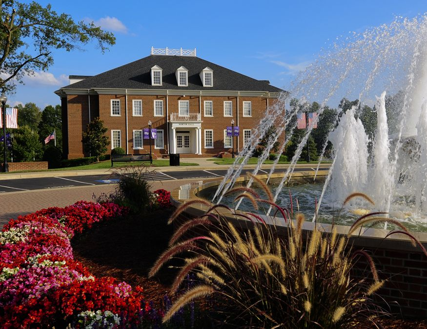 Norton Hall College Campus Map High Point University House Styles