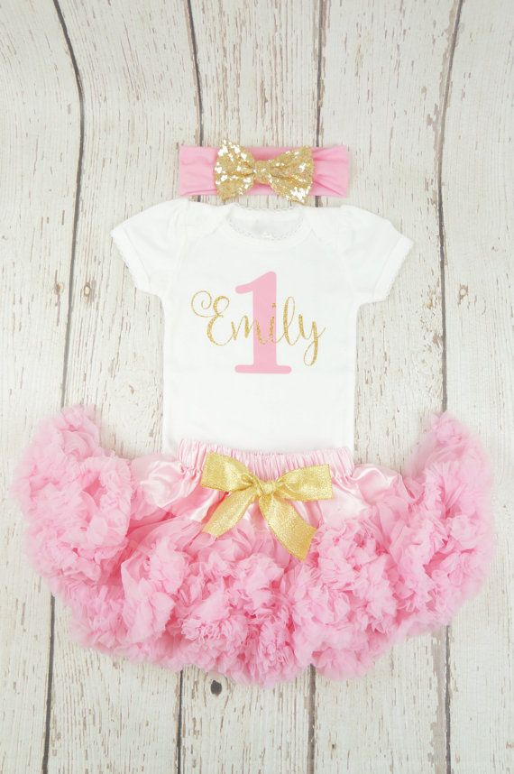 6a0001e3f girl birthday outfit pink birthday outfit first by PoshPeanutKids ...