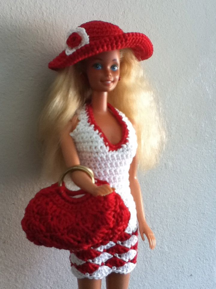 kleertjes voor Barbie | lalka | Pinterest | Barbie, Traje y Vestiditos