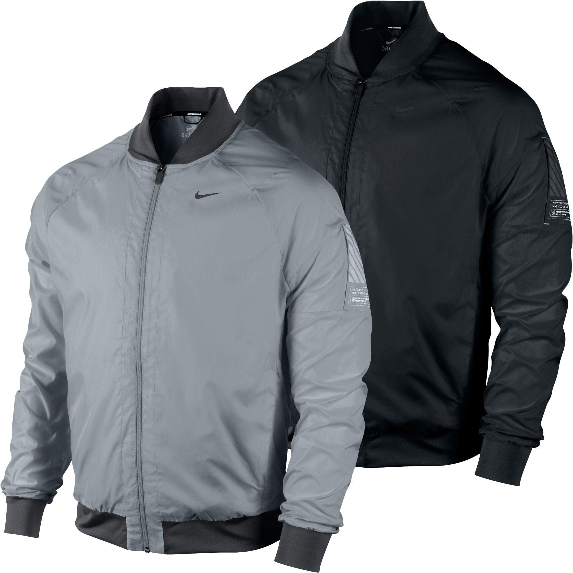 0742dd37c Wiggle | Nike Bomber Jacket SP13 | Running Windproof Jackets | men's ...