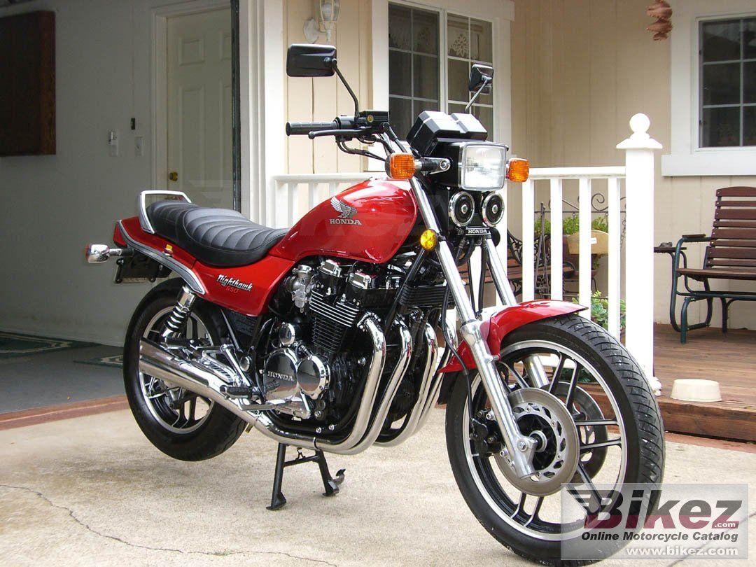 Honda CB 650 SC Nighthawk our bike <3