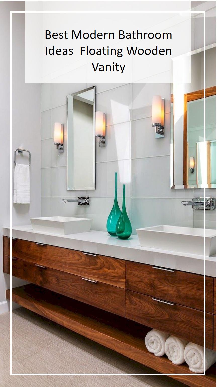 Bathroom Vanity Floating