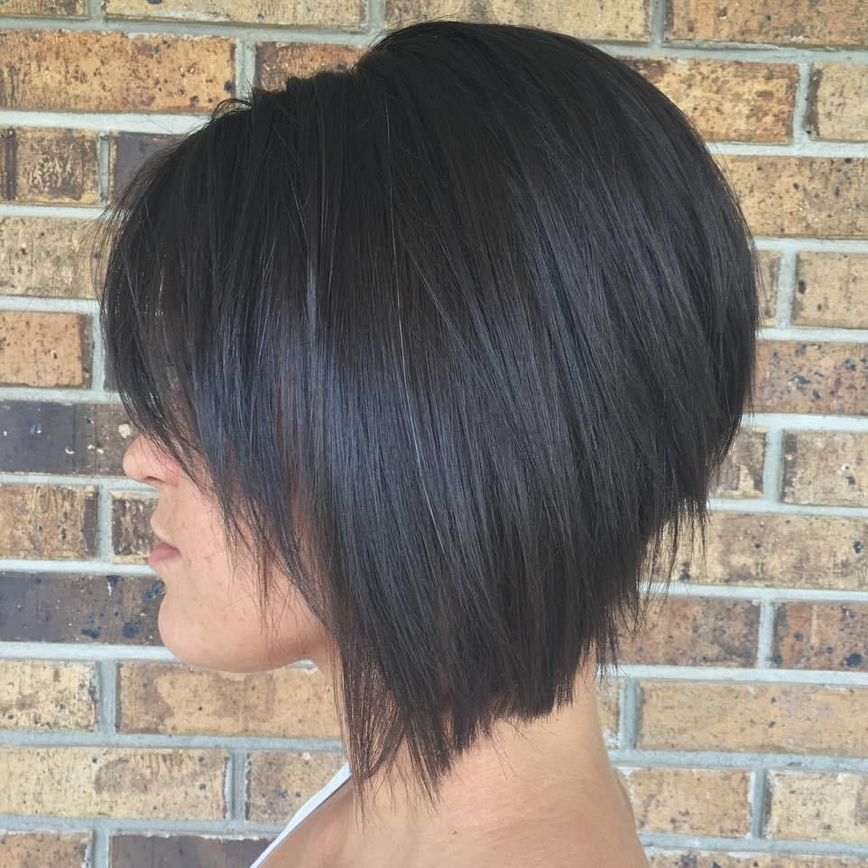 The Full Stack 50 Hottest Stacked Haircuts Hair Pinterest