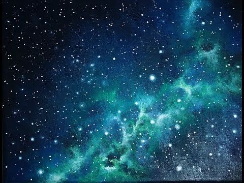 Acrylic Galaxy Painting Tutorial By Lanchen Designs Youtube Galaxy Painting Galaxy Art Painting Galaxy Painting Acrylic