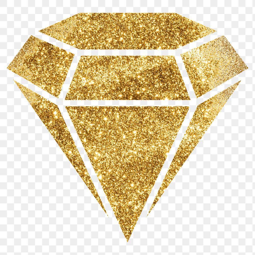 Glitter Png Gold Diamond Symbol Free Image By Rawpixel Com Adj Diamond Symbol Gold Diamond Symbols