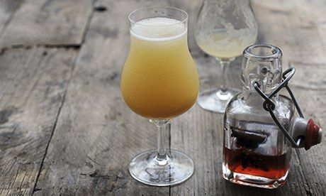 """Impeared"" memory? A spicy pear bellini might do the trick. Photograph: Jill Mead for the Guardian"