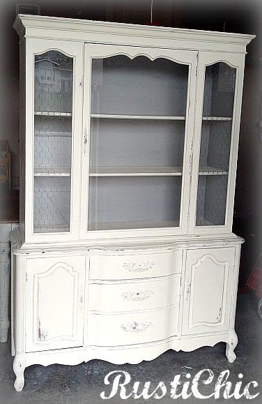 This And That Life White Distressed Hutch Maybe