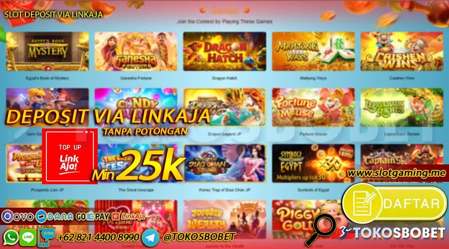 Agen Slot Deposit Linkaja Game Mainan
