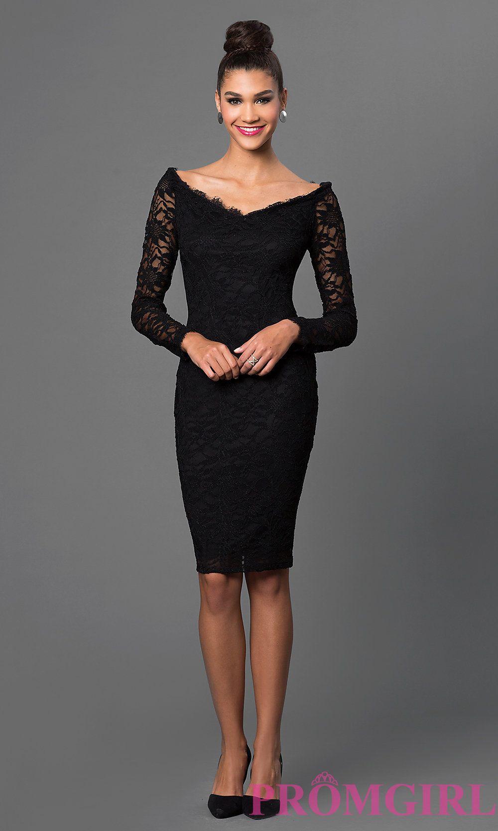 Black Lace Off Shoulder Dress | Shop!, Sleeve and Shoulders