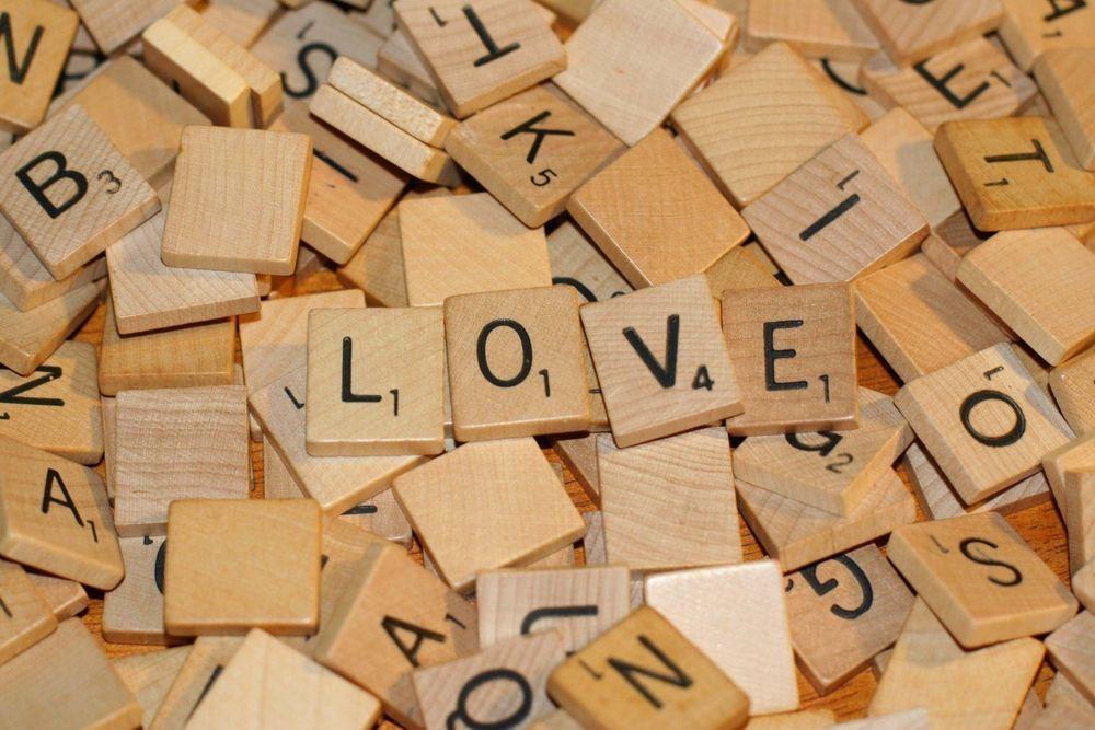 wholesale wooden scrabble tiles wood black letters board crafts bulk