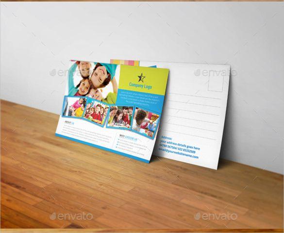 20+ Postcard Templates for Kids u2013 Free Sample, Example Format - postcard templates free
