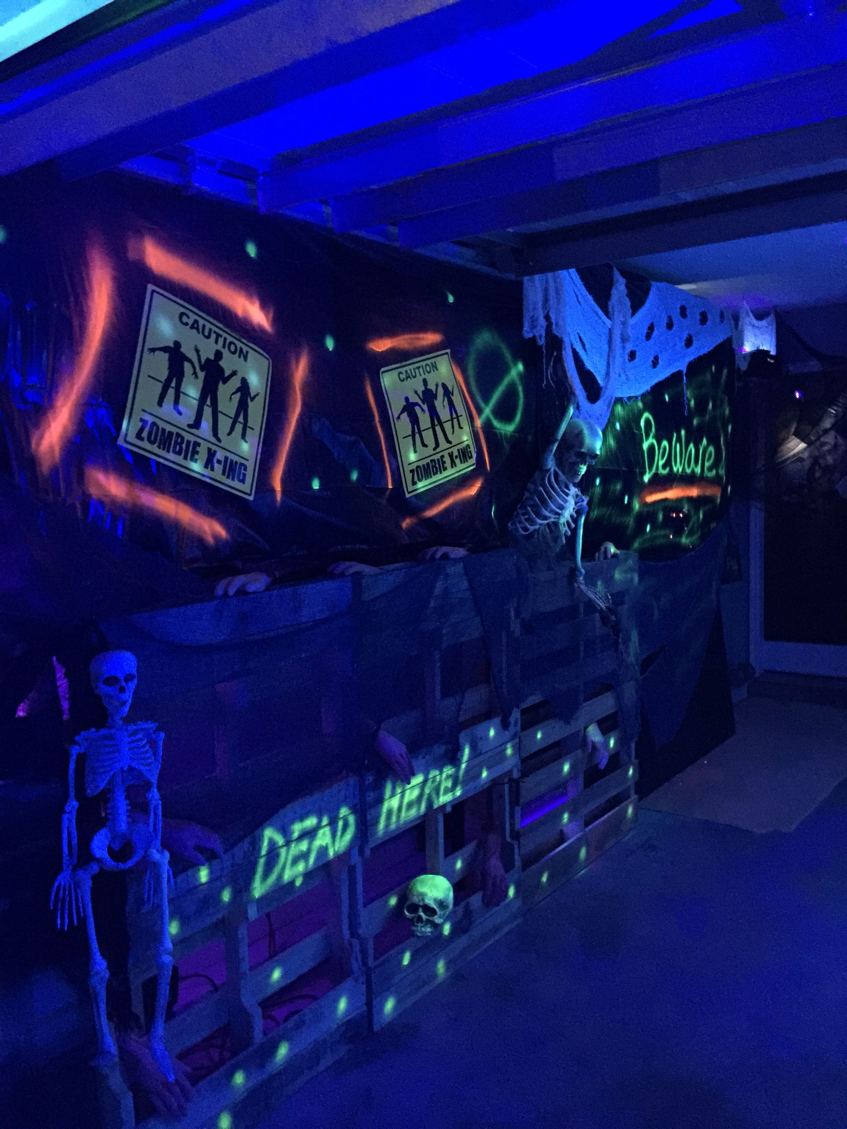 Entrance to our haunted garage