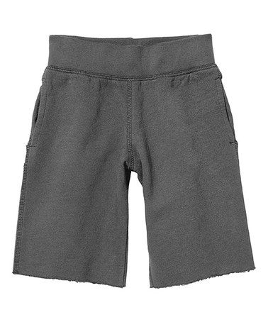 This Charcoal Clam Digger Fleece Shorts - Infant & Toddler is perfect! #zulilyfinds