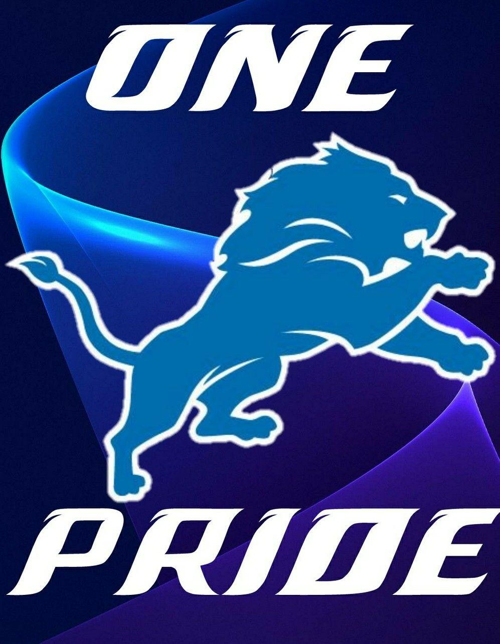 Detroit Lions One Pride Nfl Detroit Lions Detroit Lions Wallpaper Detroit Lions