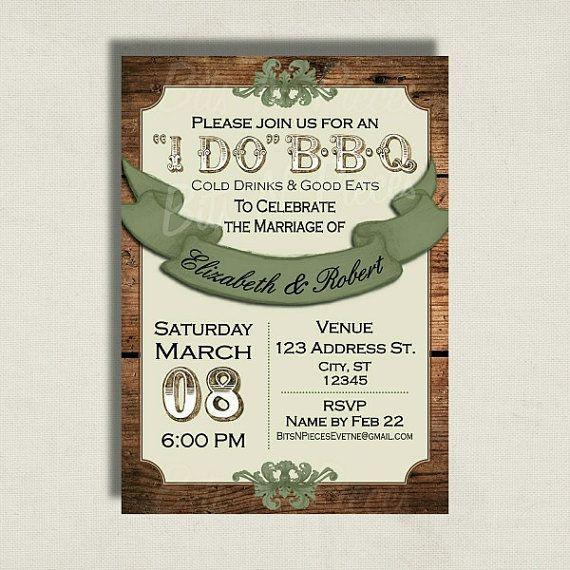 Barbecue weddings | Mossy Oak Camo Wedding Invitations X | Party ...