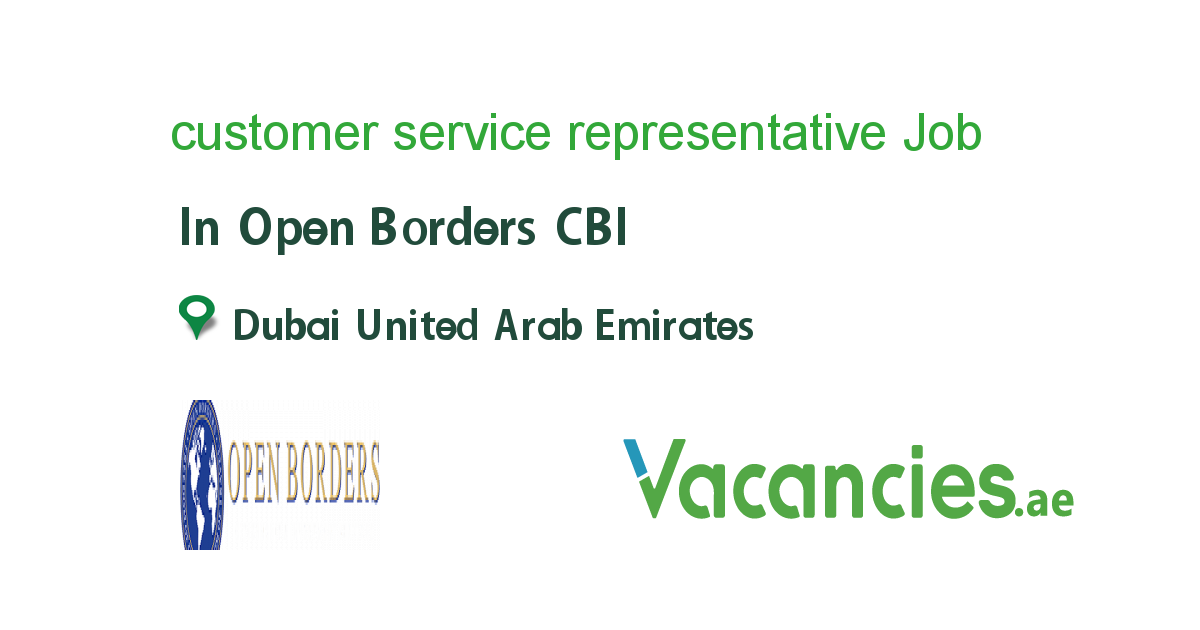 Customer Service Representative In 2020 Customer Service Jobs Customer Interaction Presentation Skills