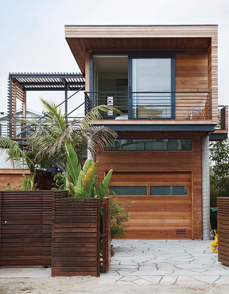 Different Patterns Of Wood Create Texture For The Home 1940s Bungalow House Design House