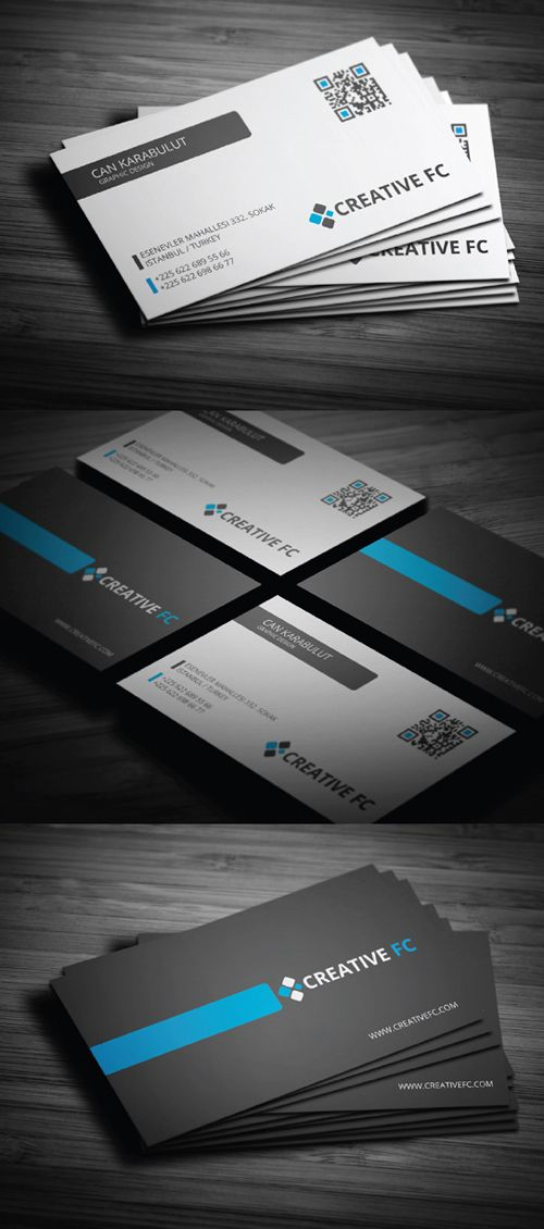 Creative Corporate Business Card Designs Roundup 1
