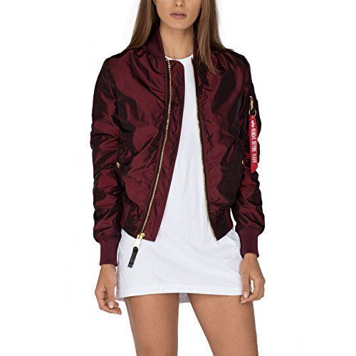 Alpha Industries MA 1 LW PM Iridium W Bomberjacke S dark