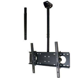 "VideoSecu Adjustable Tilting Ceiling mount for most 26""-55"" LCD LED Plasma TV Flat Panel Displays Fits Flat or Vaulted Ceiling extending 26-55"" MPC53BE 1UO (Electronics)  http://www.amazon.com/dp/B002CSI0MI/?tag=goandtalk-20  B002CSI0MI"