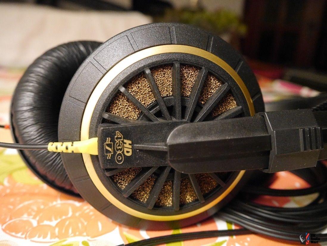 Sennheiser HD 430 Audiophile Vintage Headphones, 600 Ohm, Very Good condition