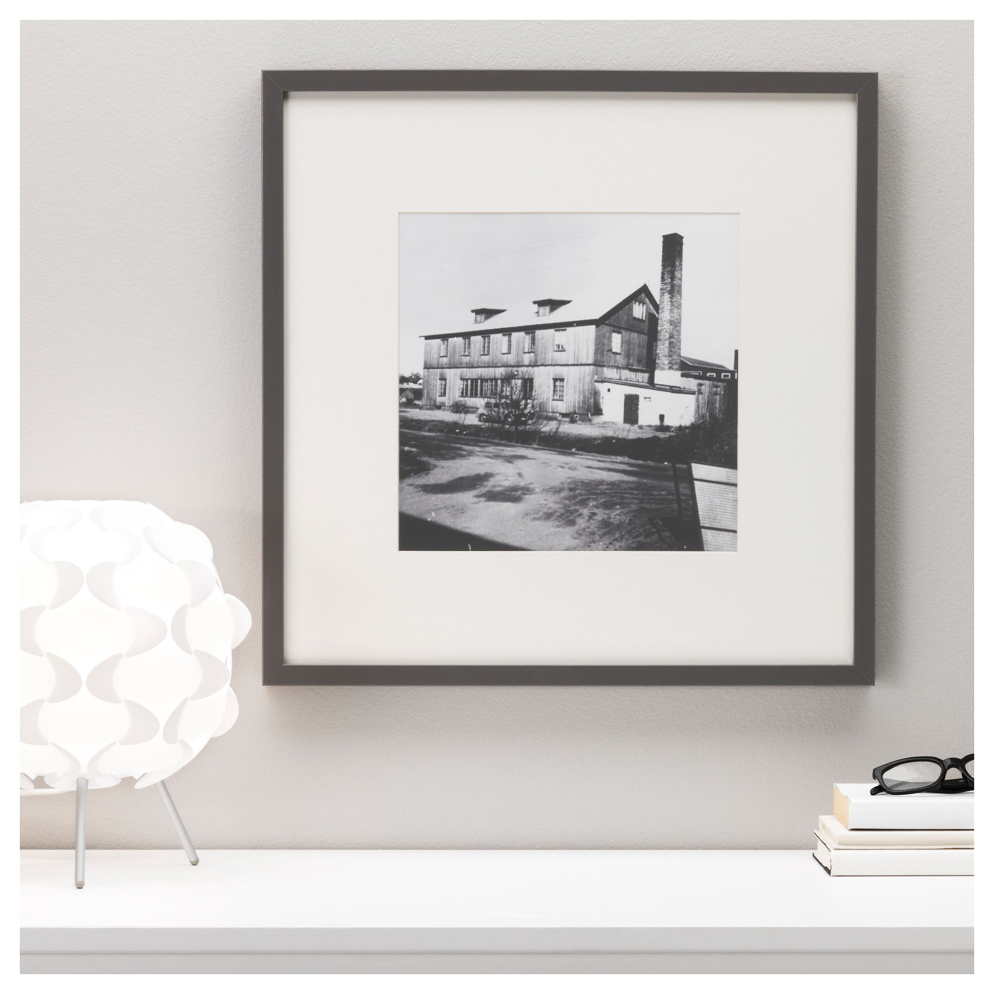 White Floating Picture Frames