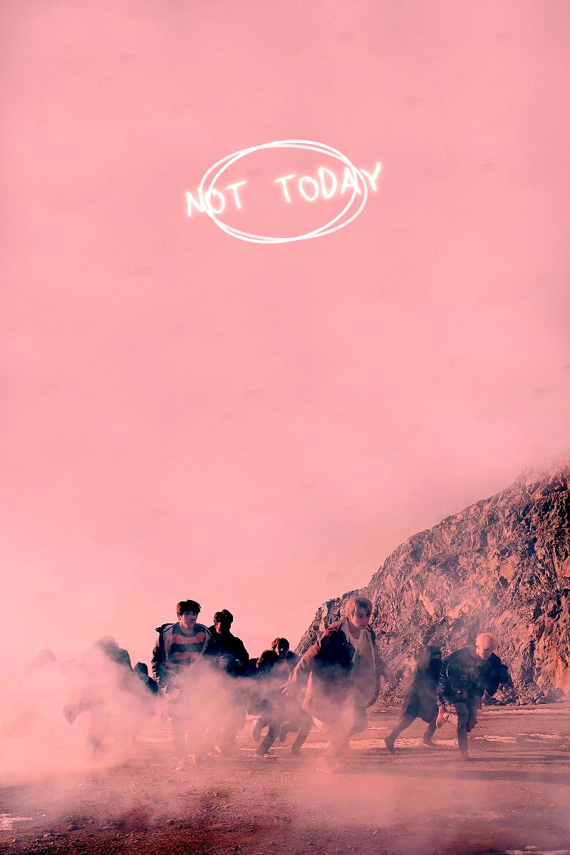 Exo iphone wallpaper tumblr - Bts Not Today Wallpapers Tumblr
