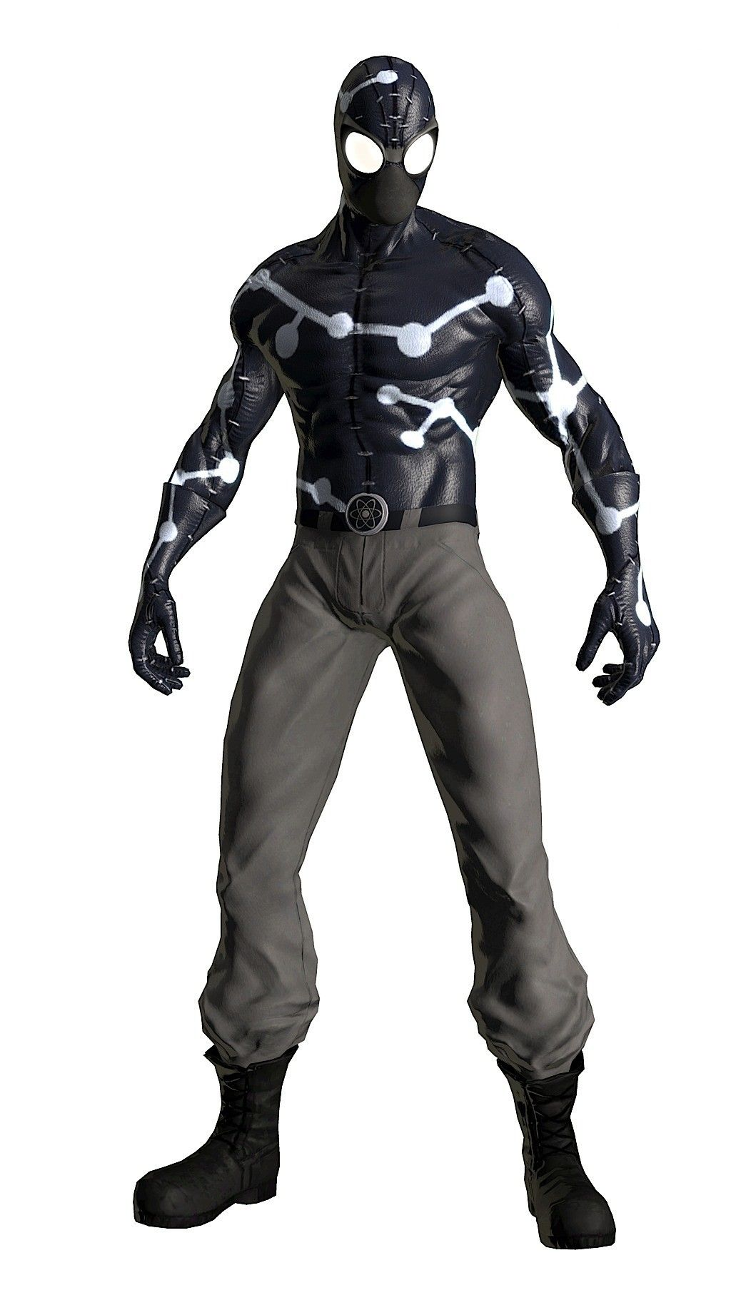 peter parker / spider-man noir (captain universe) (shattered