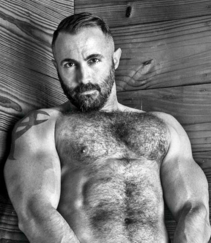 hairy chest - sexy muscle - mature men | man | pinterest | mature
