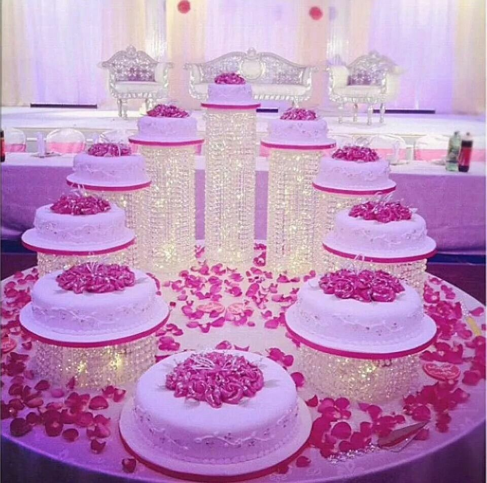 Separate tier cake Wedding cake decorations, Beautiful