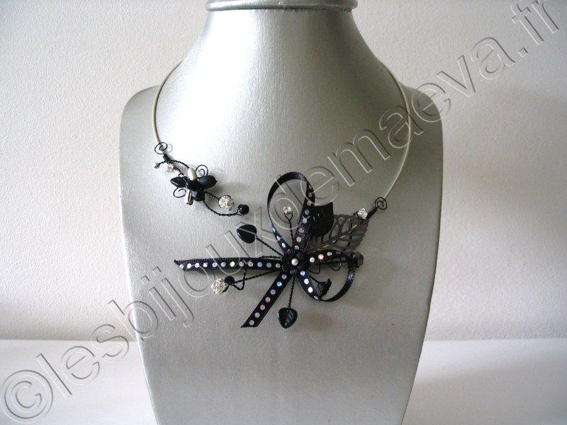 bijoux fantaisie noir