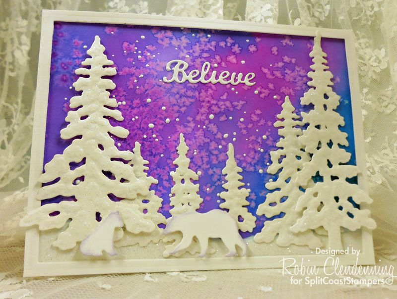 HYCCT TLC CAS Believe by Stamperrobin - Cards and Paper Crafts at Splitcoaststampers