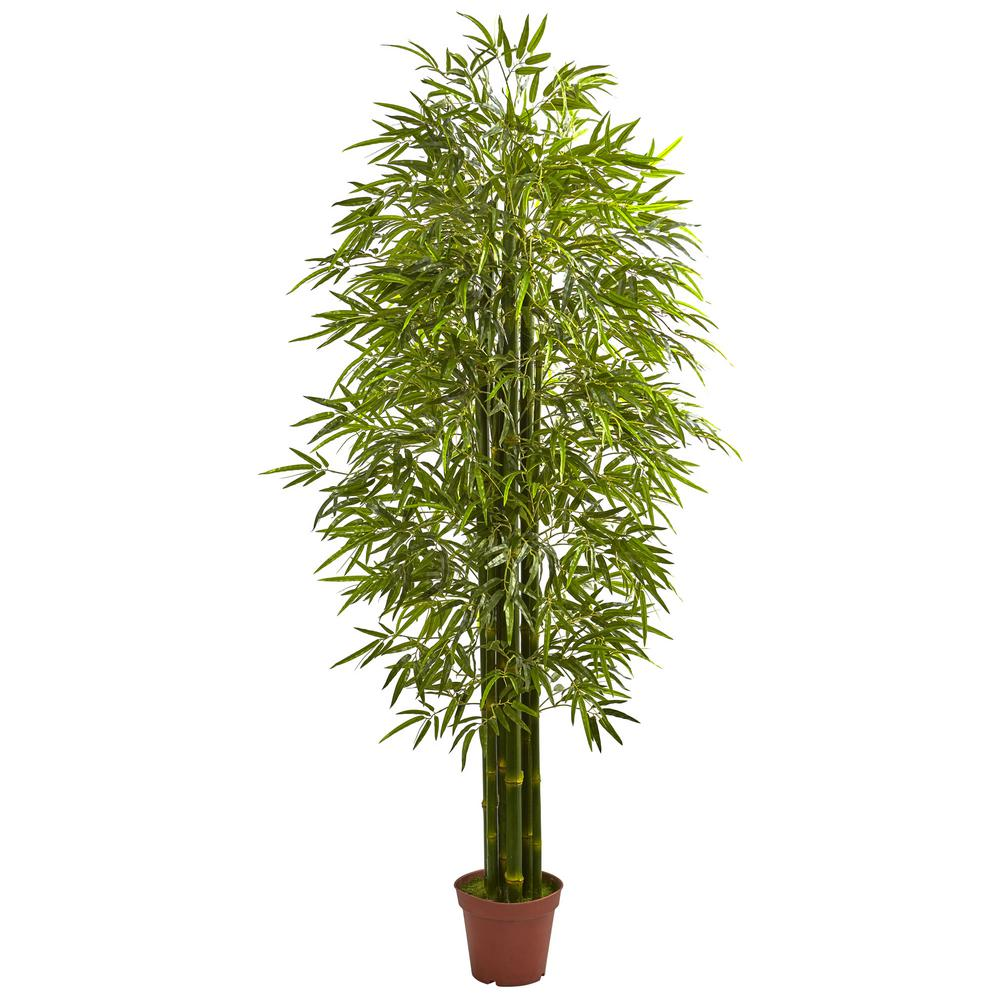 Nearly Natural Bamboo Tree Uv Resistant Indoor Outdoor Potted