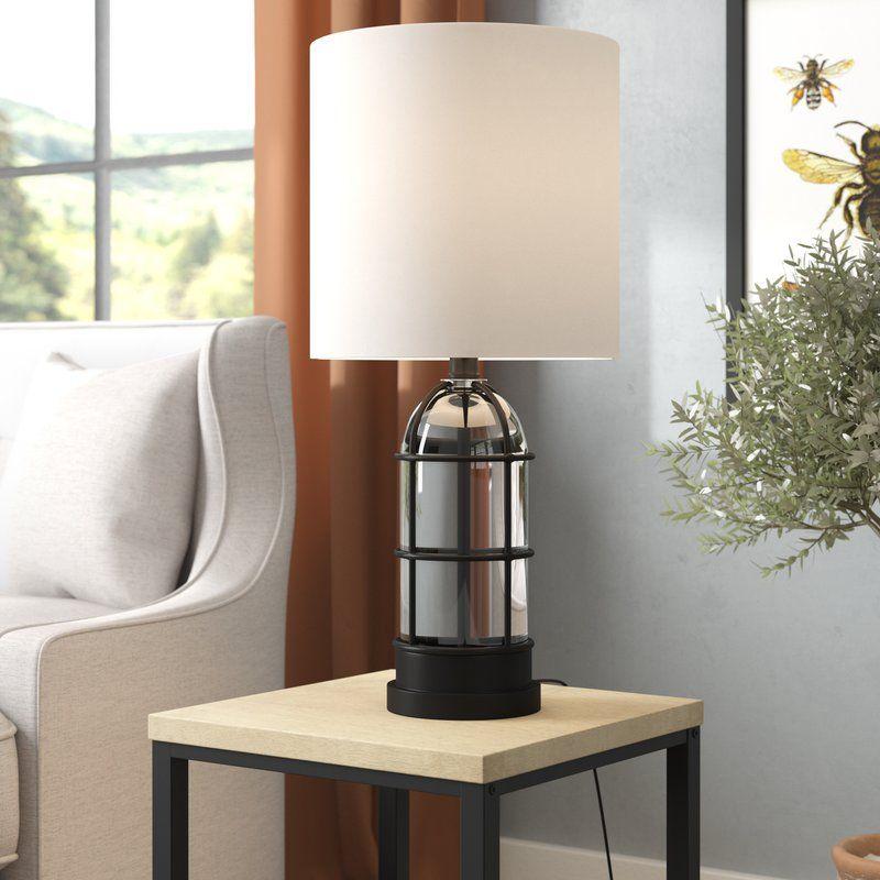 "Gracie Oaks Dockray 26"" Table Lamp & Reviews Wayfair"