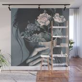 300 8x8 Wall Mural  Buy inner garden Wall Mural by dada22 Worldwide shipping available at  Just one of millions of high quality produ