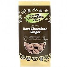 The Raw Chocolate Company Coated Ginger Snack Pack (28g)